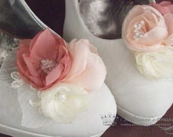 Vintage bridal shoe clips,Wedding shoes
