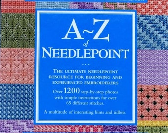 A to Z Needlepoint – Inspiration Books  - 128 Pages