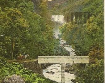 Koolau Ditch Trails Hawaii 1927 Vintage Postcard – Stunning Landscape View