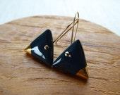 Triangle Hook Earrings...