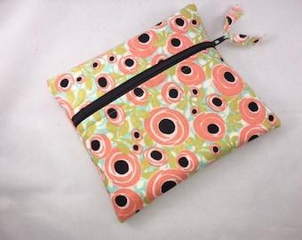 Wet Bag Cloth Pad Wet Bag Coral Floral