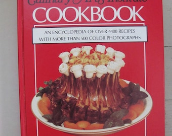 culinary arts institute cookbook encyclopedia of over 4400 recipes hardcover dust jacket
