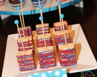 Wooden Rock Candy Sticks, Marshmallow Pops, Krispie Treats - Qty 25