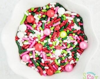 Sweet Sprinkles Mix - Berry Bliss Strawberry Shortcake - 4oz Bag