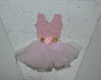 tutu banner ballerina banner name banner custom sign tutu birthday ballerina birthday princess party