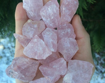 Rose Quartz Crystal - 1 piece