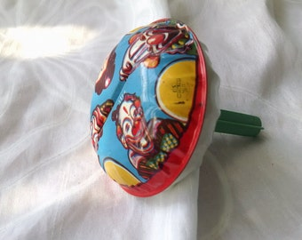 Vintage Clown Rattle