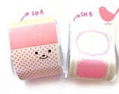 paper tape sticky note- please choose set A or B