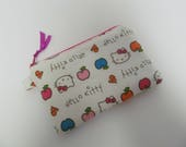 "Zipper Pouch/4""x6""/Hello Kitty"