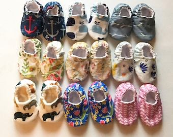 Soft Sole Crib Shoes Walking Shoes