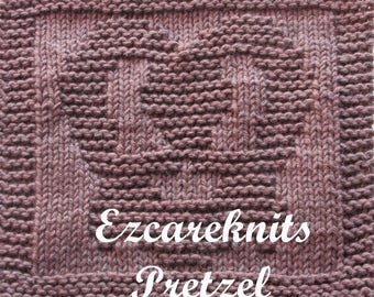 Knitting Cloth Pattern - PRETZEL