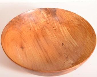 Turned Wood Bowl, Spalted Maple, Fruit Bowl, Salad Bowl, Food Safe, Gift