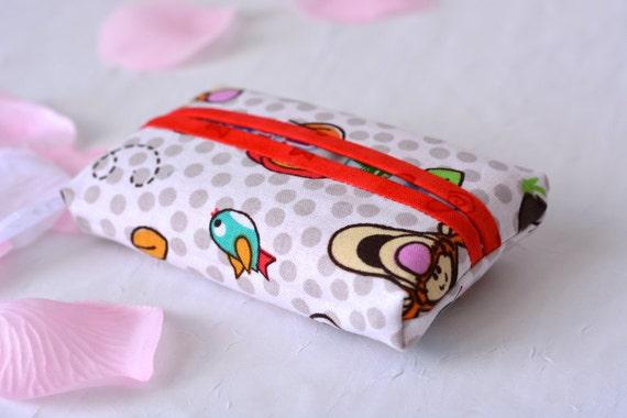 Birthday Basket Filler, Pocket Tissue Holder, Handmade Card Case, Travel Tissue Case, Mother's Day Gift, Birthday Party Favor
