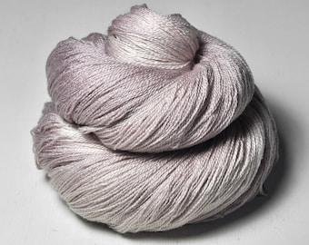 Gothic lavender OOAK - Merino/Silk/Cashmere Fine Lace Yarn