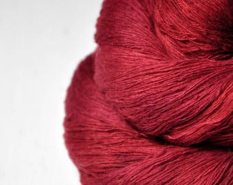 Blood queen -  Merino/Cashmere Fine Lace Yarn