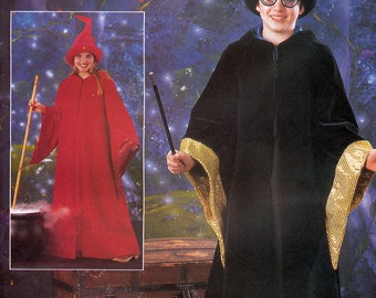 Butterick 3184 Sewing Pattern for Girl's and Boys' Harry Potter Wizard Costume - Uncut - Size 12, 14, 16