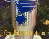 St. Louis Blues stainless 30oz. tumbler