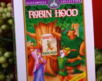 Vintage Walt Disney Masterpiece Collection Robin Hood Vintage McDonald's Toy, C1995