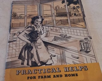 1940's Practical Helps for Farm and Home Booklet