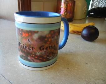 Ocean Jasper Coffee Mug with my Columbia River Gems LOGO