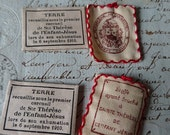 4 Charming and evocative antique French religious reliquaries c1910 SAINT THERESE