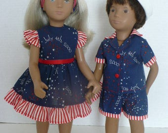 Sasha/Gregor Fourth Of July Pattern