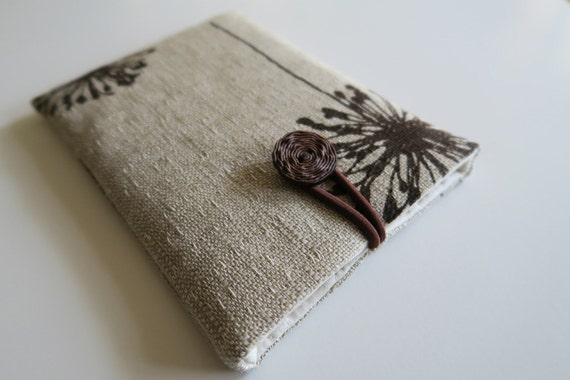 Kindle Paperwhite cover Kindle Paperwhite case  Kindle Paperwhite sleeve Kindle Paperwhite bag dandelions
