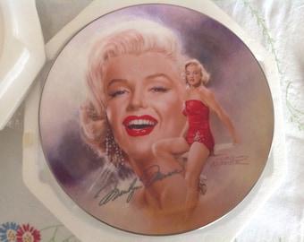 "Bradford Exchange ""million Dollar Star""Marilyn Monroe Plate"
