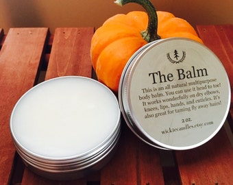 Pumpkin Pie All Natural Multipurpose Scented Body Balm Salve