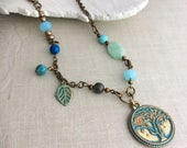 Tree of Life Psalm 1 Charm Necklace