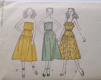 Vintage Sewing Pattern 70s dress News Of The World No. 170 multi size