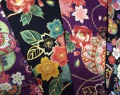 Beautiful Kimono design printed fabric 4 Half yard size sets Special offer only one set