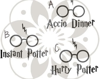 Harry Potter  - Instant Pot Decal