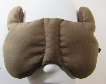 Herbal Hot/Cold Therapy Child Size Sleep Mask with adjustable and removable strap Do Not Disturb the Bear