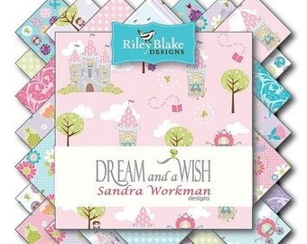 Sale Dream And A Wish Charm Pack 5 Inch Stacker Riley Blake