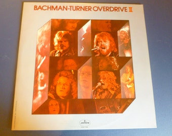 Bachman Turner Overdrive II Vinyl Record SRM-1-696 Mercury Records 1973