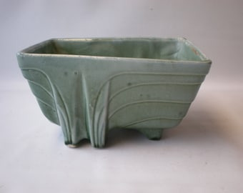 Vintage Green USA Planter