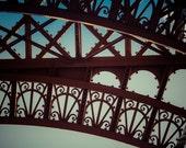 Eiffel Tower Paris  Close Up - 8x10 Fine Art Print