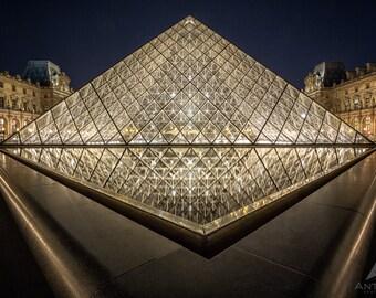 Louvre Museum Paris - 8x10 Fine Art Print