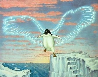 The Positive Penguin