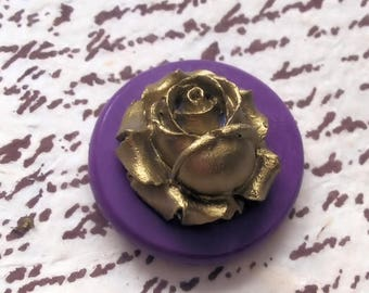Rose flexible silicone mold