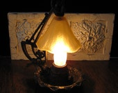 Vintage Arts and Crafts Night-Table Lamp FREE SHIPPING to the USA & Canada