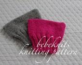 Bebeknits Simple Pussycat Baby Hat Knitting Pattern