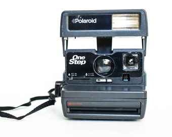 Vintage Polaroid Camera, Vintage Polaroid One Step Camera, Polaroid Onestep, Polaroid 600 Camera - WORKS!