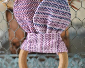 Girasol Angelique Crinkle Teething Ring