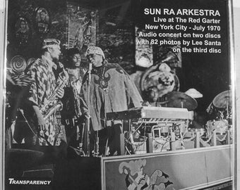 SUN RA ARKESTRA - Live at the Red Garter, N.Y.  1970 Recording - Double C.D. Set - w/ photo disc - Avante Garde / Jazz