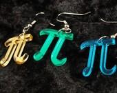 Custom Dangle 3 pi earrings
