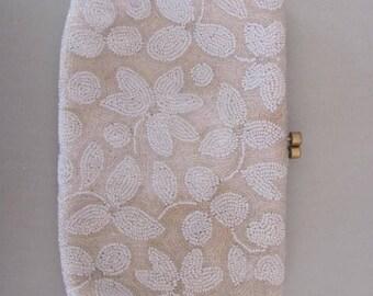 Vintage Micro Beaded Purse Handbag Made in France