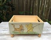 Winnie The Pooh - Tigger - Vintage Pooh - Nursery Decor - Baby Decor - Baby Shower Gifts - Baby Shower Centerpiece - Winnie the Pooh Nursery