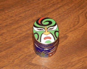 Cloisonné Trinket Box